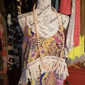 Adorable Paisley bohemian flapper style dress